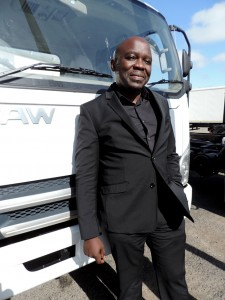 A man with a dream coming true - Menelisi Moyo, founder and managing director of Mogul Medical Solutions.