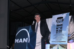Managing Director of MAN Truck Bus SA, Geoff du Plessis, highlights the dealer footprint in Africa.