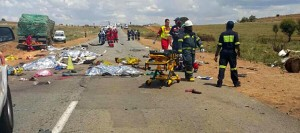 19 people died and four were injured in this one accident which occurred last weekend near Westonaria when a taxi lost control, hit into a truck and overturned. The AA says crashes and deaths on our roads are too common and believes more can be done to improve the situation. FleetWatch agrees with this sentiment.