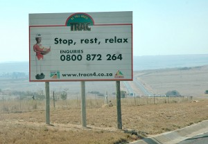 To all road users, make your journey part of your holiday by stopping, resting and relaxing along the way. And don't forget to wave to the truckers. TRAC has urged all road users not to hesitate in calling the TRAC Helpdesk on 0800 87 22 64 for quick assistance and response to any problem.