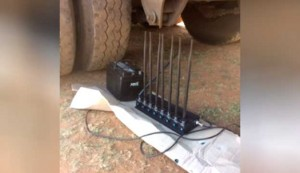 This is the jamming device used by criminals in a recent truck hijacking where Ctrack recovered the truck. According to Ctrack, criminals are increasingly investing in technology to commit their crimes with instances of signal jamming occurring on a more frequent basis.
