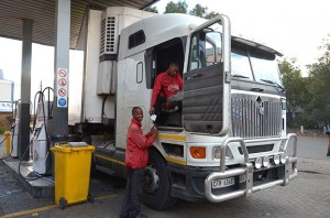 There won't be many smiles in April when truckers pull in to fill up as diesel is expected to go up by around 95 cents a litre.
