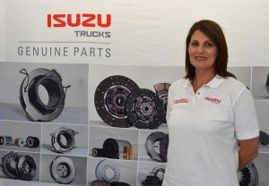 With the announcement that Isuzu Truck South Africa (ITSA) will be selling genuine replacement parts to truck owners at a fraction of the cost, Hanlie du Preez, who last year moved over to the Aftersales Readiness and Value Added Products side of the company, now has more ammo to promote the use of genuine parts to Isuzu truck owners.