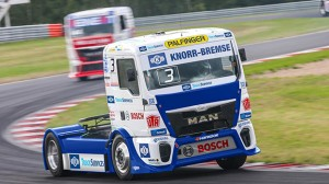 The race truck from the stables of three-time European Champion Jochen Hahn. Intensive collaboration between Knorr-Bremse and Team Hahn Racing in the analysis of vehicle handling and the condition of the individual components has been on-going for 15 years now.
