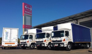 Hino Oranje...  the dealer who provided the seven new Hino 500-series 1626 freight carriers to Dynamic Truck Rental.