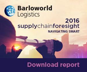 Barloworld Logistics supplychainforesight 2016