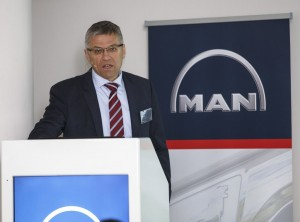 """MAN Truck and Bus South Africa managing director, Markus Geyer: """"We now have full decision-making power for the entire sub-equatorial Africa region, including South Africa, under one roof and I believe our local management team has the necessary experience to lead MAN into a new era of positive growth in the Pan-African markets I now manage."""""""