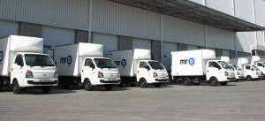 Some of the 22 TakeAlot.com fleet ready to load up and head off for home deliveries. As consumers in South Africa become more trust-worthy of on-line shopping, this trend is likely to increase which is good news for companies like Serco in providing the right vehicles for the job.