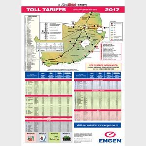 Toll Tariff 2017
