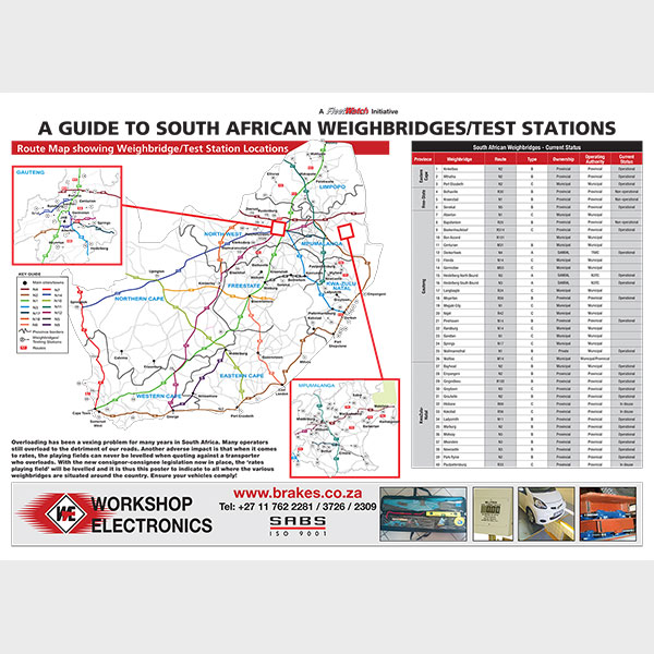 Beautiful Guide To South African WeighbridgesTest Stations  Fleetwatch