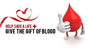Give the gift of blood
