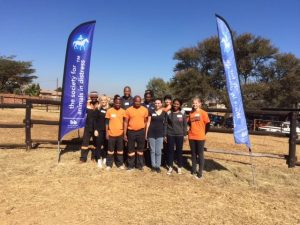 This year, in celebration of the late Tata Madiba's birthday, the staff at marketing services company, Graffiti, opted to muck in and support The Society for Animals in Distress (SAID).