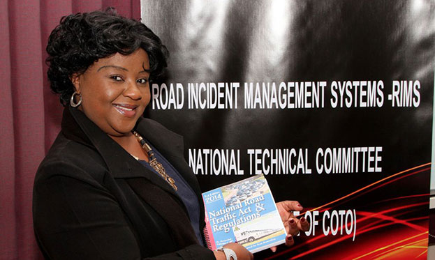 Nomsa Modise, project manager for Social Economic Development and in Road Incident Management Systems in the Eastern Region, will be in charge of RIMS skills training under the auspices of SANRAL.