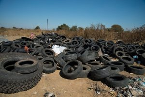 South Africa has millions of waste tyres lying in dumps and stockpiles or scattered across the country in residential, industrial and rural areas. Almost 11 million waste tyres are added to this number every year. Through the REDISA Waste Tyre Management Plan, tyres are now being recycled into useful products instead of polluting the environment.