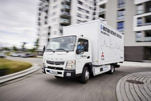 Current fleet trials with the Fuso Canter E-Cell in Germany