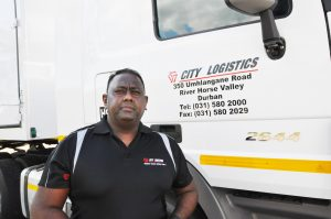 Anthony Naicker, City Logistics Transport Director