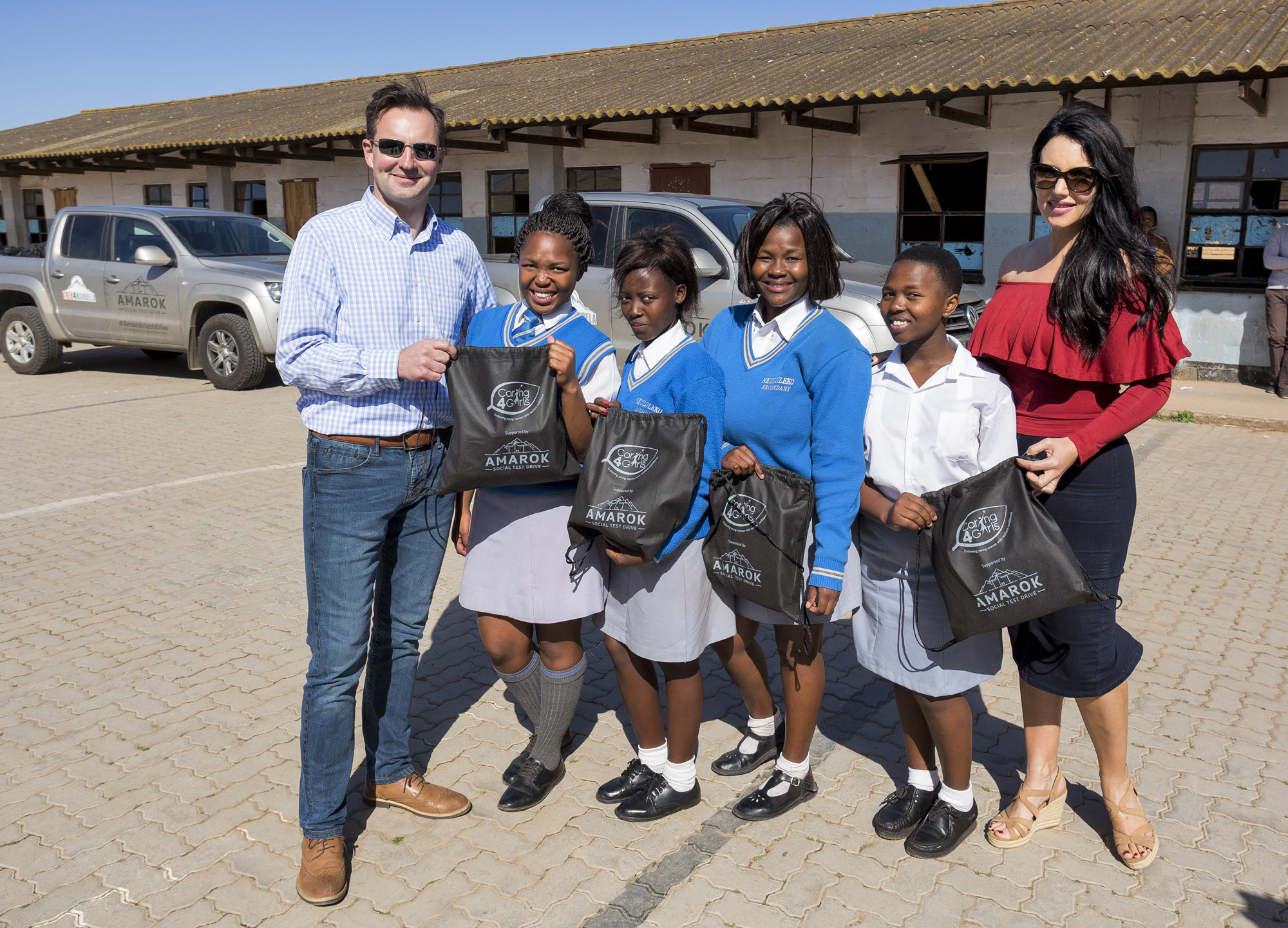 Amarok changes lives of young girls