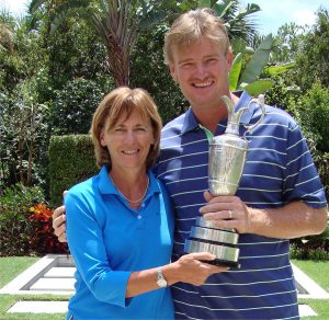 The work Dr Sherylle Calder did with Ernie Els using EyeGym helped him to win the 2012 British Open.