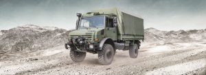 The 'meneer' of military vehicles, the Unimog U5000 provides maximum mobility in the toughest of terrains. It's an amazing vehicle which many in the old SADF will remember as being the stalwart of the military fleet.