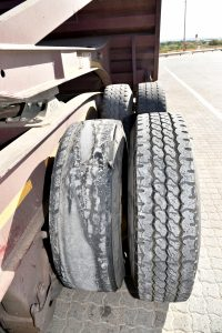Tyre woes – completely finished, no tread on entire circumference - a killer on the road!