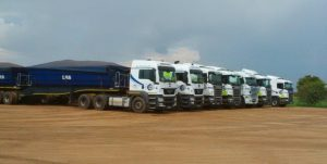 Loubser Bulk Services fleet Part of the 108 Loubser Bulk Services fleet. A fuel saving of 4% across the entire fleet translates into a huge chunk of bucks onto the bottom line.