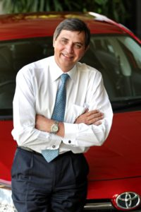 Dr Johan van Zyl is the first African to be appointed as a Senior Managing Officer by Toyota Motor Corporation.