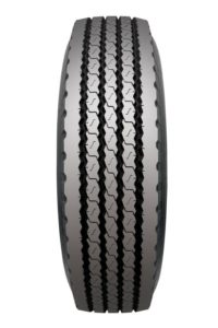 Preliminary data from tests conducted by Bridgestone indicate that the new FT505 will have covered 270 000 km by the time the tread wears to 4mm.