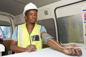 All testing is voluntary – and free. Given the long and lonely hours long haul drivers spend on the road and the stresses associated with the job, Engen's Driver Wellness programme forms a critical pillar of support for the country's truck drivers.