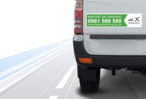 The success of the MiX ReportMyDriving programme is based on a combination of factors, including the simple, yet effective placement of safety hotline stickers on vehicles, the 24/7 MiX Journey Management Centre that operates the hotline, and the incident investigation process that follows.