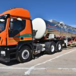 Oranjerivier Tenkers has its own AdBlue® station at its depot in Upington for its fleet of Iveco Stralis trucks