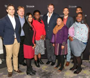 The Imperial and Awethu teams celebrate the launch of the Sinawe Fund.