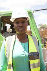 Tshimangadzo Masindi on site at the Musina ring road project.