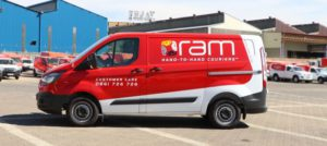 RAM Hand-to-Hand Couriers has added another 44 new Ford Transit Custom panel vans to its nationwide fleet. This brings to 207 the number of Ford Transit vans operating in the fleet.