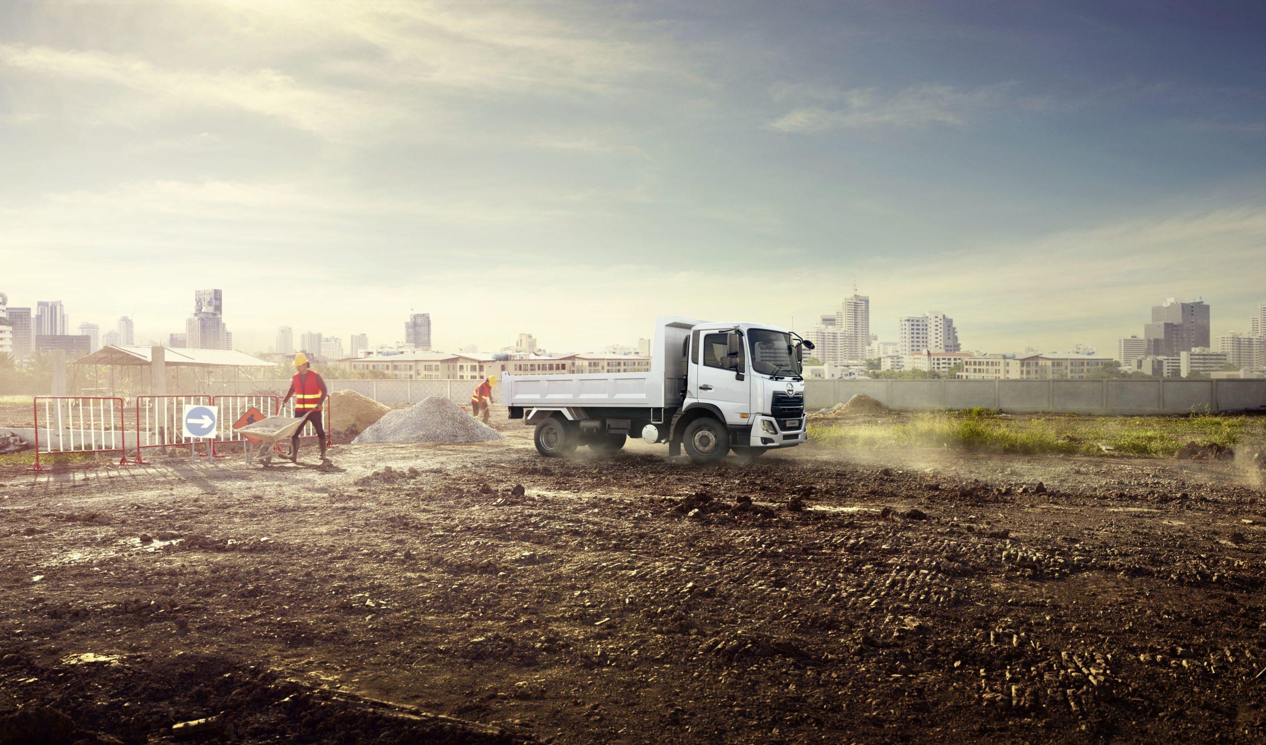 UD Trucks Croner HCV Construction App