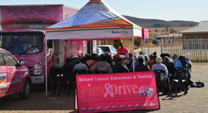 As part of Women's Month, Bakwena N1N4 has partnered with PinkDrive and the Department of Health to raise awareness around breast, testicular and prostate cancer in communities surrounding the Platinum Highway in North West Province. This year, the Pink Drive mammography truck will be stationed at Dinokana on August 17th and at Tshwelelopele Clinic on August 31st.