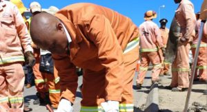 In March this year, the executive Mayor of the City of Johannesburg, Cllr Herman Mashaba, declared 'war' potholes and launched the campaign by helping a work team to fill in some of these vexing road hazards. He has now announced that over the past year, the City has fixed 117 483 potholes resulting in an increase of 26 945 - or 22% more pothole repairs compared to the previous period (2015/2016). Well done Mr Mayor on 'walking your talk'.