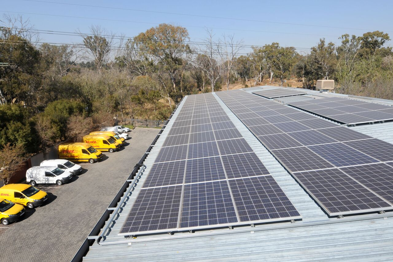 The reduced energy consumption of DHL's new green facility is partly due to a 34kW solar photovoltaic system that reduces the demand for grid power by at least 25%. The 'greening' of the building is in line with Deutsche Post DHL Group's goal to reduce all logistics-related emissions to net zero by the year 2050.