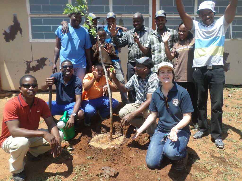Planting just one tree during Arbor Month will make all the difference. Here Food & Trees for Africa celebrates the planting of this tree. Let the trucking industry emulate them.