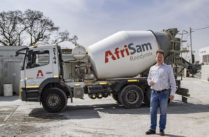"AfriSam's outbound logistics manager, Rob Sansom, is justifiably proud of the company being recognised as the 'Best Fleet' in the SARMA awards. ""Each vehicle is like a billboard for the company so it must always deliver a positive impact,"" he says."