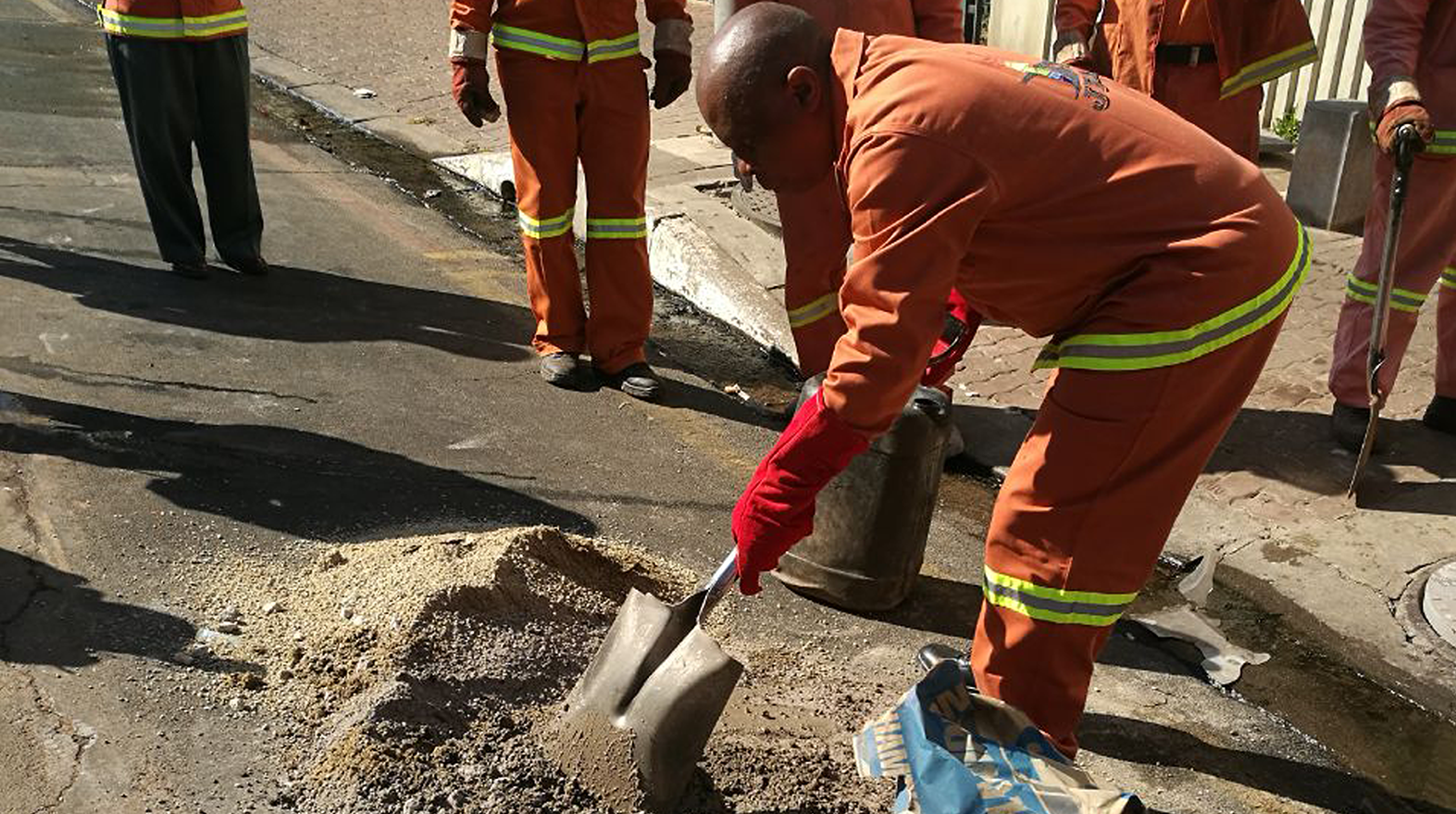 Getting on with repairs – for a safer city.