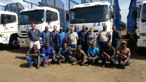 Zululand Agricultural Holdings started back in 2013 and today employs 120 people. The fleet has grown from 15 to 42 trucks truck combinations, three tractors and two Bell loaders.