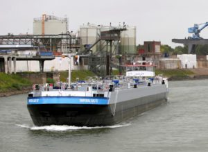 It's not a truck but it certainly makes us proud. This is Imperial Gas 92, one of the two new gas tankers christened by Imperial Logistics to be used to transport liquefied petroleum gas (LPG) and pressurised gaseous products - among other things - on canals and secondary inland waterways in Europe. They can be used in the complete river Rhine area, including its tributaries. But note the Imperial logo on the driver's cab at the back. Taking South African knowledge and expertise to the world. Yeah! Well done Imperial Logistics and thank you for making us proud as South Africans given that our so-called leaders aren't doing much for us in the national pride stakes.