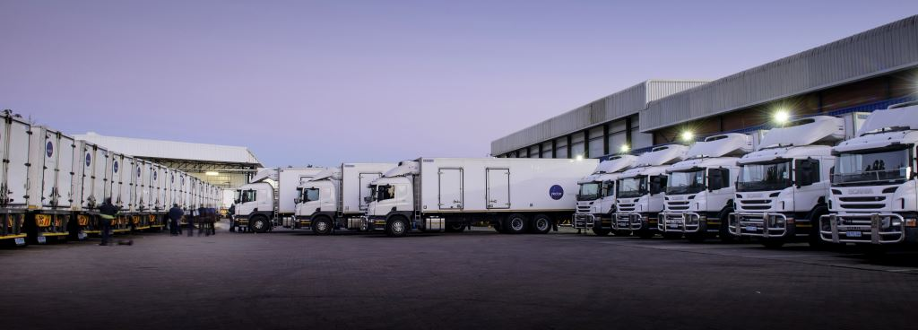Part of Vector Logistics fleet of over 370 vehicles which transport food products throughout South Africa, Namibia and Botswana. The company's long standing relationship with Pick 'n Pay has been cemented with a new contract making Vector Logistics responsible for distributing Pick 'n Pay's entire basket of frozen products – including ice-cream – across all its store formats nationwide.