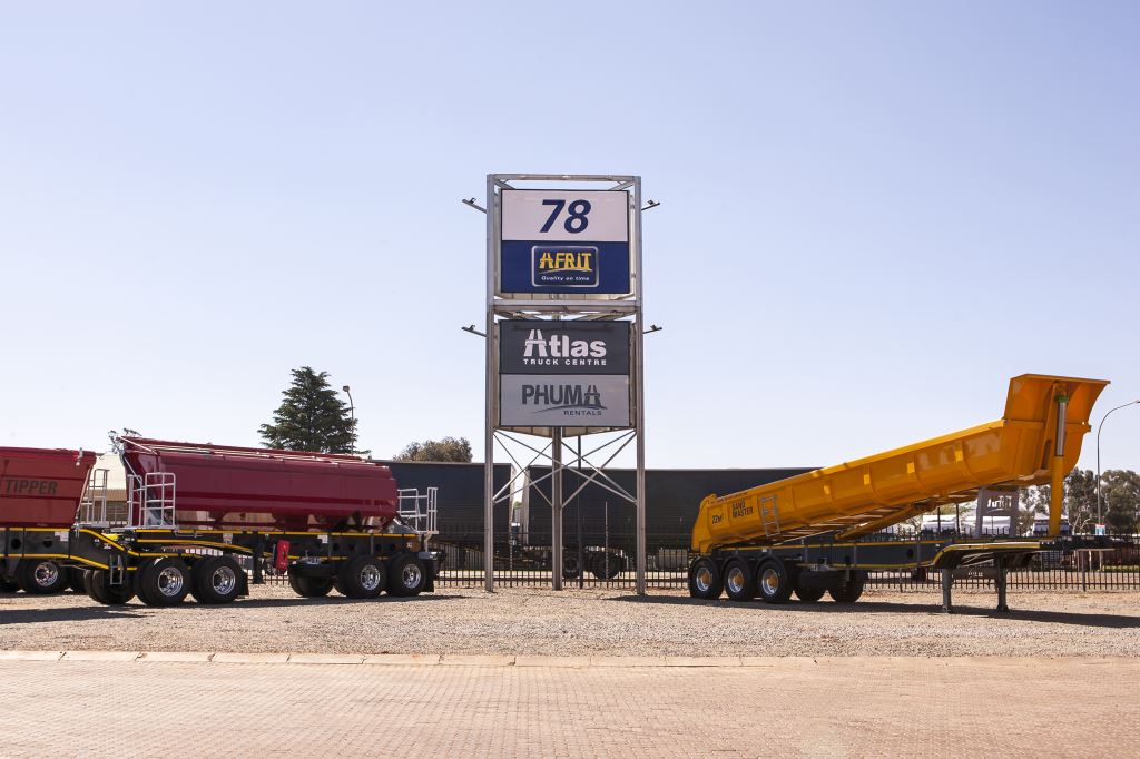 The culmination of almost two years of work has seen the official opening of the Afrit Group's new 80 000m2 truck and trailer facility located near OR Tambo International Airport.