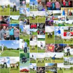 A glimpse into the day at the FleetWatch Fundraising Golf Day.