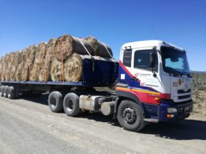 One of the Grindrod truck loaded and ready to deliver to the much needed Eastern Cape.
