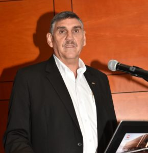 """Gert Swanepoel, managing director of UD Trucks Southern Africa: """"With recent political changes in mind, we are hopeful that business confidence will return to more positive levels, which will certainly encourage businesses to invest in their fleets."""""""