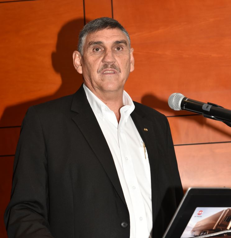 "Gert Swanepoel, managing director of UD Trucks Southern Africa: ""With recent political changes in mind, we are hopeful that business confidence will return to more positive levels, which will certainly encourage businesses to invest in their fleets."""