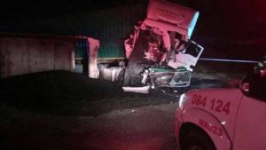 R59 crash: This is the truck in which Amor Nero was killed on the R59.