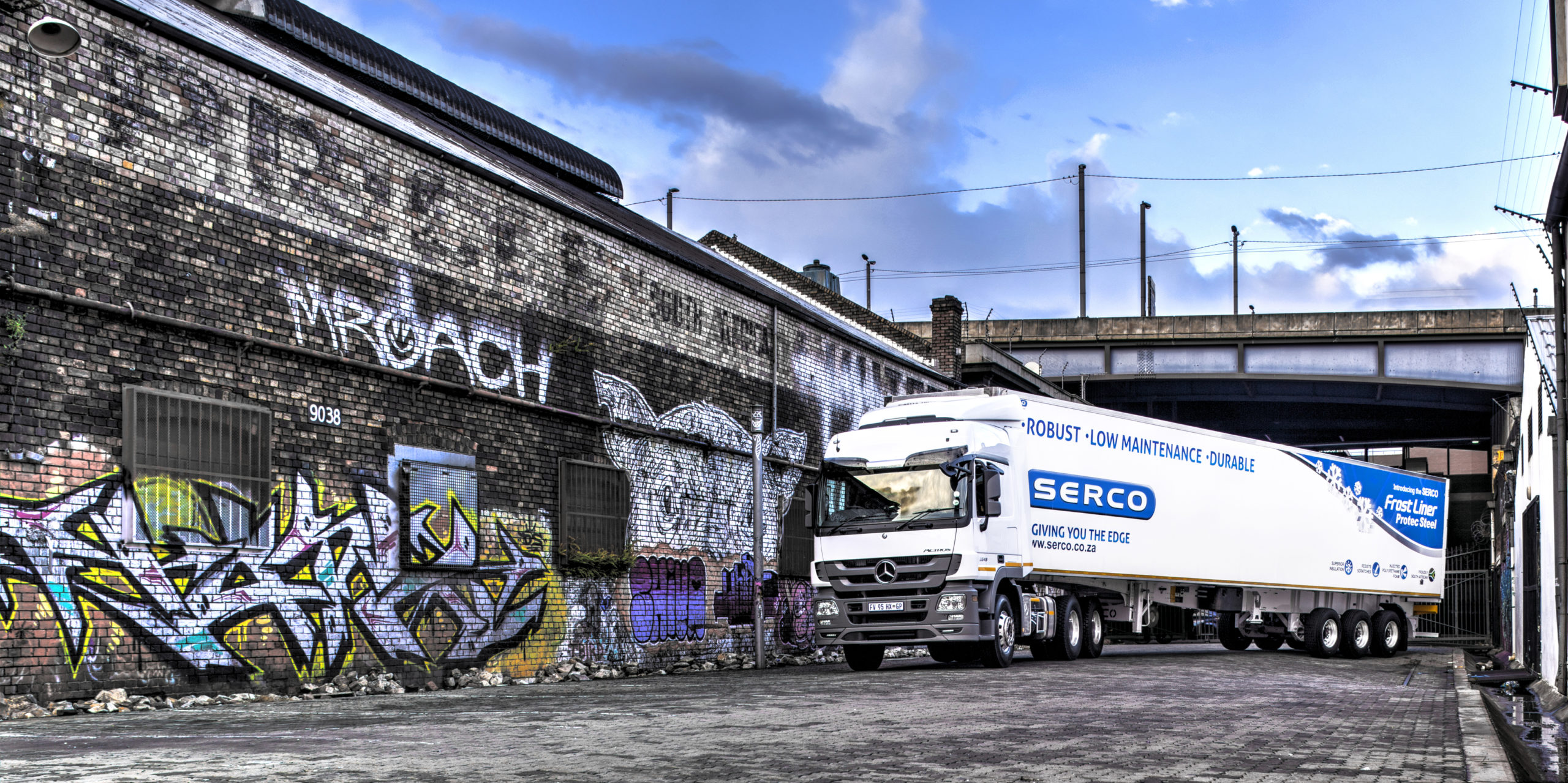 Serco Protec: The new Protec Steel Frostliner has been well received with Serco's order book for trailers being 95% Protec Steel.